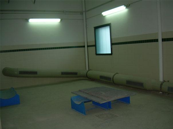 Sistema de ventilación asociado a Torre de Absorción