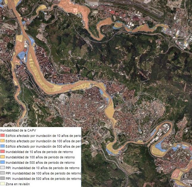 Riesgo de Inundación Bilbao