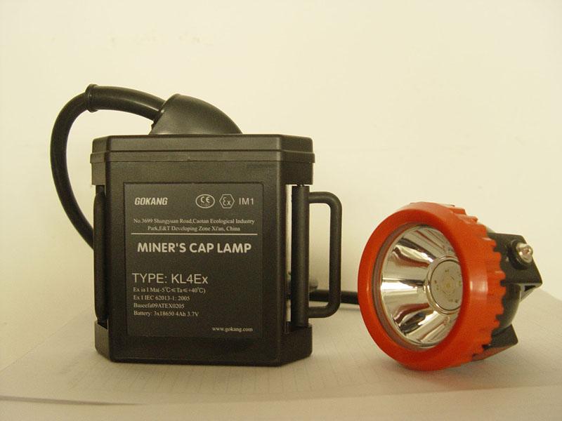 lámpara de seguridad