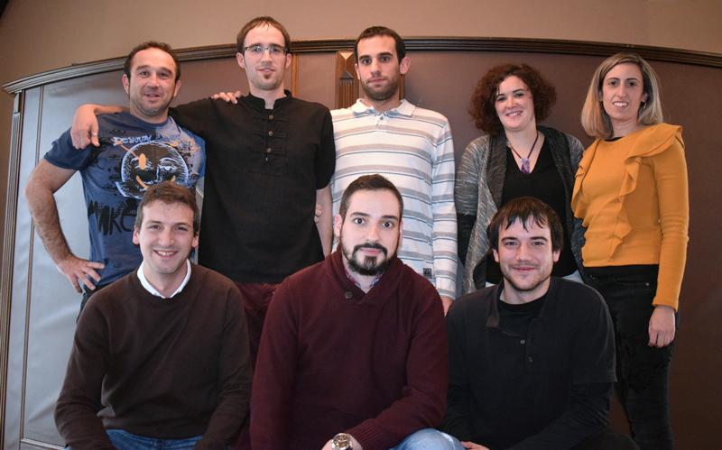 Integrantes del equipo de Seguridad Industrial de Tesicnor
