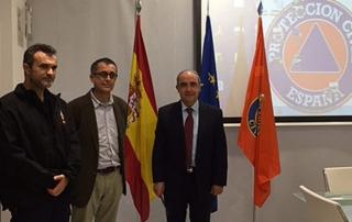 Omnipresent, presentación a Protección Civil de España