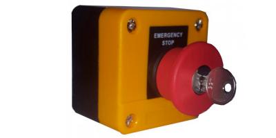 seta de emergencia con llave